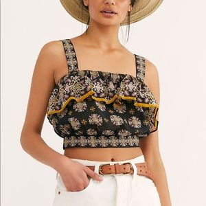 Salsa in the moonlight Free People tank